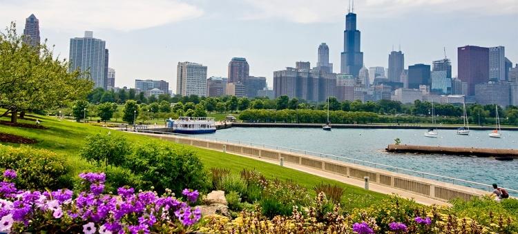 Paysage de Chicago