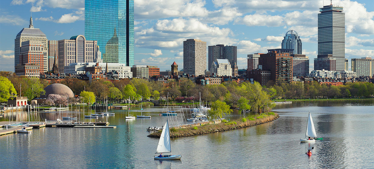 Vue d'ensemble de Boston